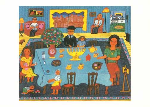 Chanukah in New York - Box of 10 Cards