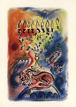 The Mystical Menorah - Box of 10 Cards