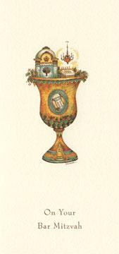 Sanctuary Kiddush Cup - Box of 10 Cards