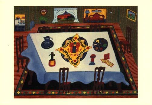 The Seder Table - Box of 10 Cards